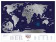 Mapa zdrapka świat - Holiday World
