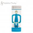Gryzak Masujący ze Szczoteczką Niebieski Matchstick Monkey