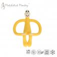 Gryzak Masujący ze Szczoteczką Żółty Matchstick Monkey