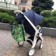 Wodoodporna torba do wózka Makaszka Zielono mi