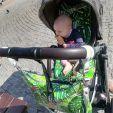 Organizer torba na wózek dla mamy szachownica makaszka