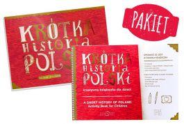 Pakiet: Krótka Historia Polski + Krótka Historia Polski - kreatywna książeczka