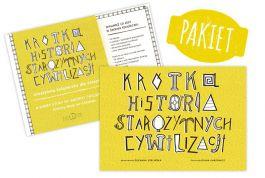 Pakiet: Krótka Historia Starożytnych Cywilizacji + Krótka Historia Starożytnych Cywilizacji - kreatywna książeczka