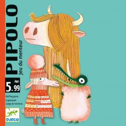 Djeco. Gra karciana Pipolo-blef 5+