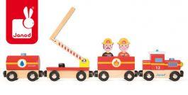 Janod. Straż pożarna - pociąg drewniany