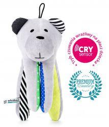 Whisbear - Szumiący Miś z funkcją CRYsensor (cytryna)