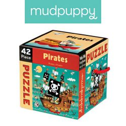 Mudpuppy. Puzzle 42 elementy - Piraci