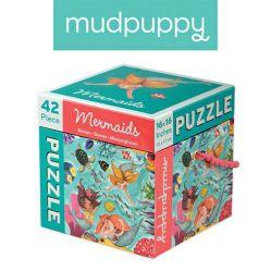 Mudpuppy. Puzzle 42 elementy - Syreny
