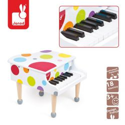 Janod. Instrumenty Confetti - Fortepian