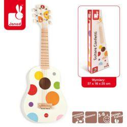 Janod. Instrumenty Confetti - Gitara duża