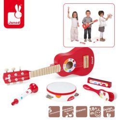 Janod. Instrumenty Confetti - Zestaw duży