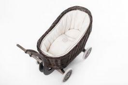 Petit Landau. Wózek Colette - Szary (Wypełnienie: Krem)