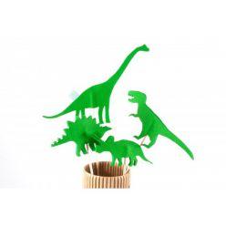 Kukiełki z filcu - dinozaury