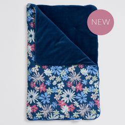 Bim Bla Kołderka niemowlęca z wypełnieniem Floral Velvet 75x95 cm