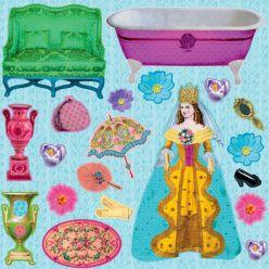 Domek do urządzania – W zamku u Królowej Mon Petit Art