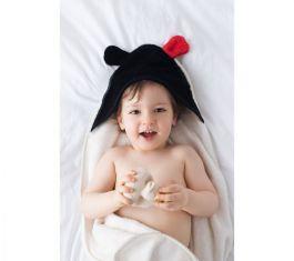 Lullalove -Bambusowy Ręcznik z Uszkami MRB