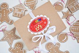 Ozdoby świąteczne bożonarodzeniowe na choinkę z tektury