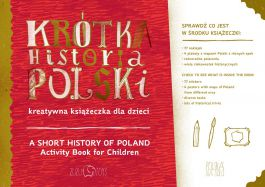 Krótka Historia Polski - kreatywna książeczka