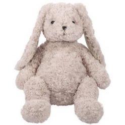 Maskotka królik Carmen pudrowy róż 34 cm