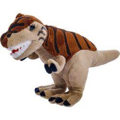 Maskotka pluszowy dinozaur Tyranozaur brązowy 25cm