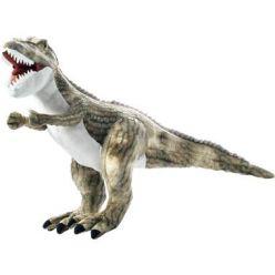 Maskotka pluszowy dinozaur Tyranozaur szary 30cm