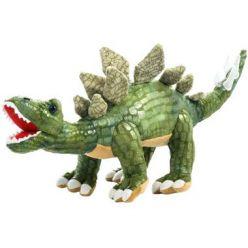 Maskotka pluszowy dinozaur Stegozaur Ciemny Zielony 43cm