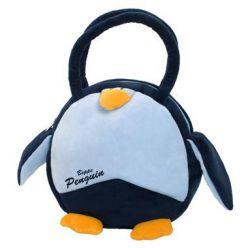 Okrągła torebka Pingwin