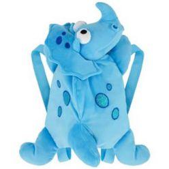 Plecak dinozaur Dino niebieski 38 cm