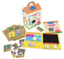 Pomysłowy domek świnka Peppa Książka + Puzzle