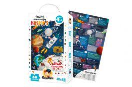 Puzzle obserwacyjne Kosmos dla dzieci 4+ CZU CZU