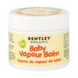 ORGANICZNY Balsam dla dzieci Ułatwiający Oddychanie 0+ Na Przeziębienia Bentley Organic