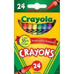 Crayola Core. Kredki świecowe 24 szt.