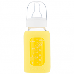 ANTYKOLKOWA BUTELKA SZKLANA 120ML YELLOW ECO VIKING