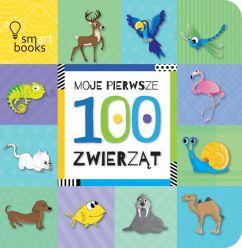 Moje pierwsze 100 zwierząt. SMART BOOKS