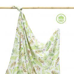 Otulacz bambusowy Paprocie Makaszka