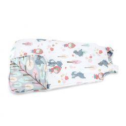 Śpiworek dla niemowlaka do spania - Czerwony Kaputrek (rozm. S)