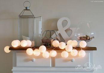 Cotton Balls Light - PURE WHITE