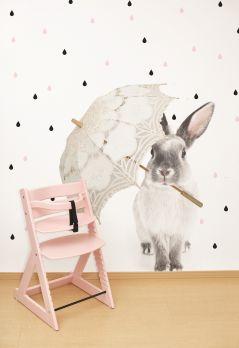 Naklejka na ścianę Królik Harry w deszczu Dekornik S