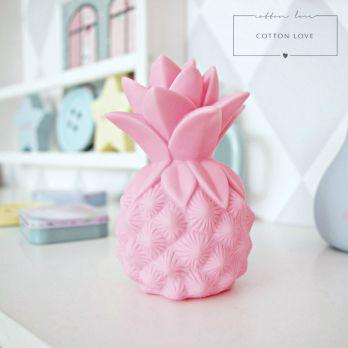 Lampka LED różowy Ananas. Cotton Love