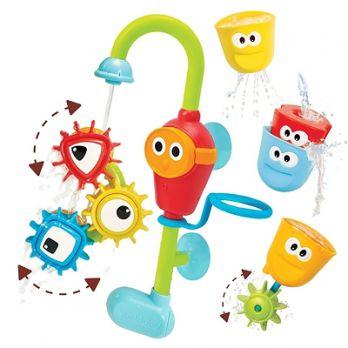Yookidoo Wesoły Kranik i Wirujące Trybiki - zabawka do kąpieli