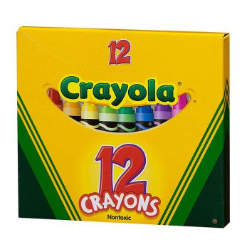 Crayola, kredki świecowe, 12 szt.