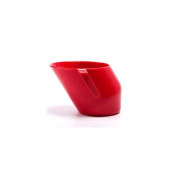 Krzywy kubek Doidy cup czerwony