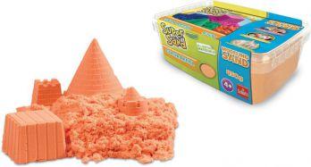 Piasek do modelowania Super Sand - Pomarańczowy
