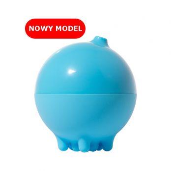 Plui Deszczowa piłka niebieska zabawka do kąpieli NOWY model otwierany
