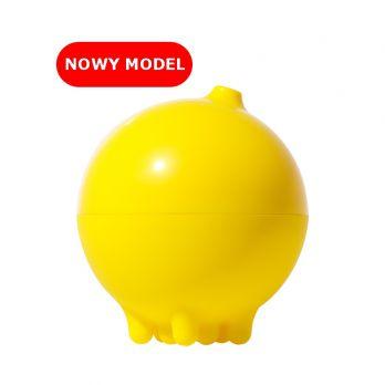 Plui Deszczowa piłka żółta zabawka do kąpieli NOWY model otwierany