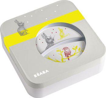Beaba Zestaw prezentowy z melaminy Bunny